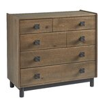 Naccarato 5 Drawer Accent Chest by Union Rustic