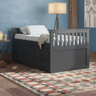 Zilla Mates  Captains Bed with Trundle