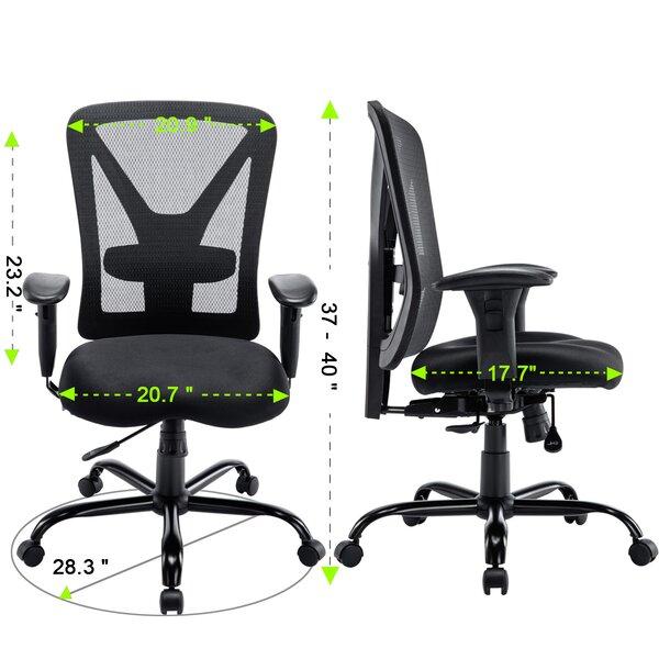 Symple Stuff Fewell Ergonomic Mesh Task Chair Wayfair