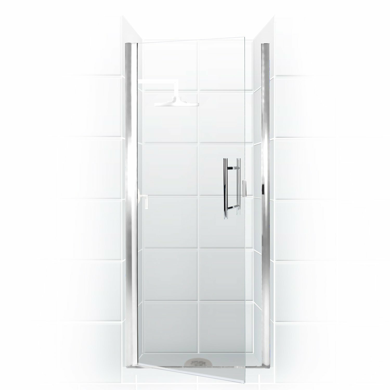 Coastal Industries Paragon Series 32 X 69 Hinged Semi Frameless Shower Door Wayfair