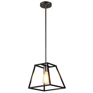 Williston Forge Escobedo 1-Light Lantern Pendant