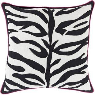 Eugenia Zebra Throw Pillow
