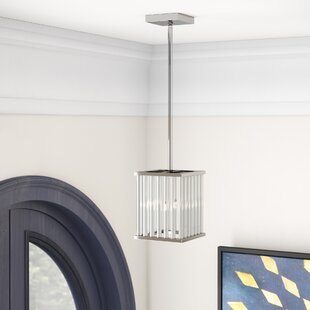 Dru Contemporary 2-Light Crystal Pendant by Willa Arlo Interiors