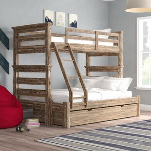 Elise Twin Over Full Bunk Bed with Trundle