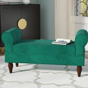 Willa Arlo Interiors Shar Upholstered Bench