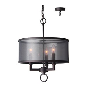 Buy clear Jamison 3-Light Chandelier By Woodbridge Lighting