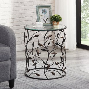 Wilks Twining Vines End Table by Charlton Home
