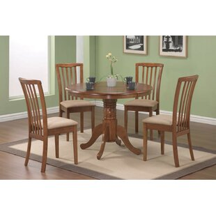 Lees 5 Piece Dining Set Alcott Hill