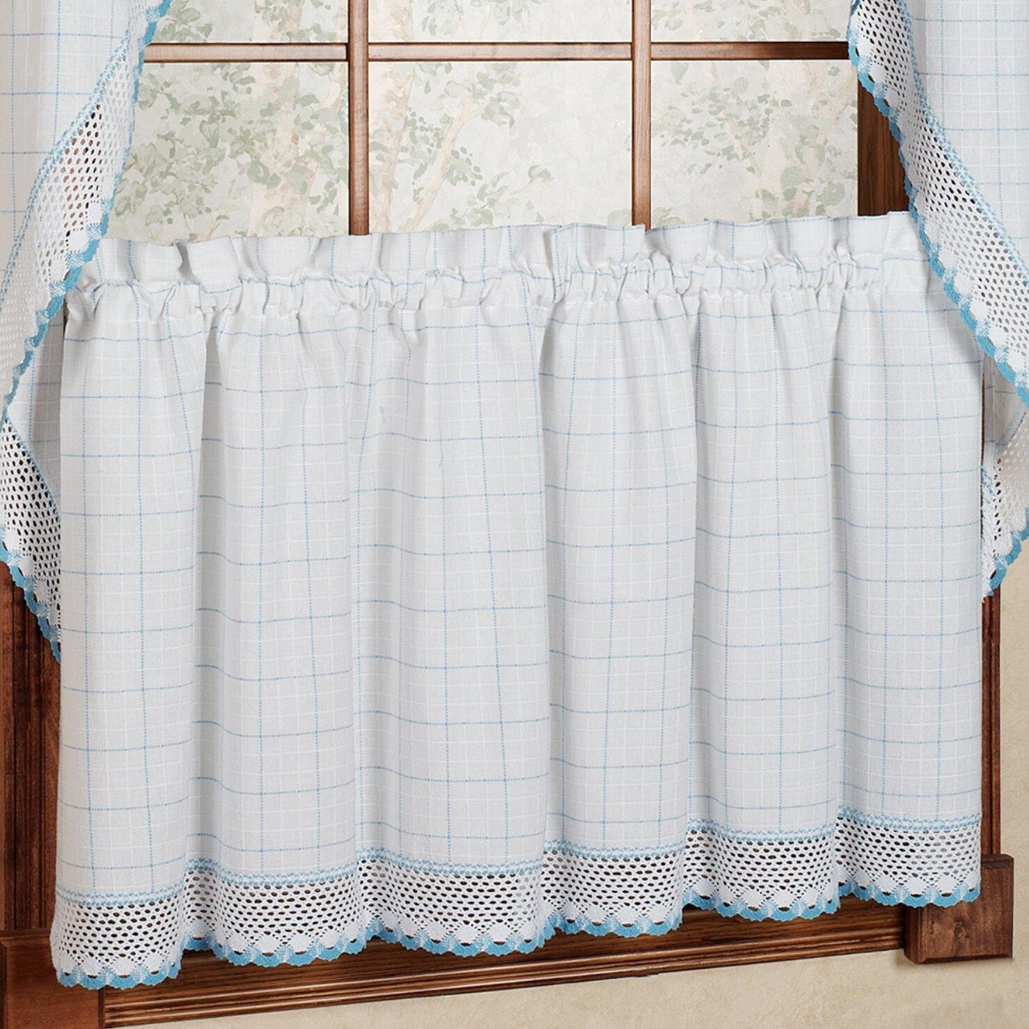 Loon Peak Cotton Kitchen Window Cafe Curtain Reviews