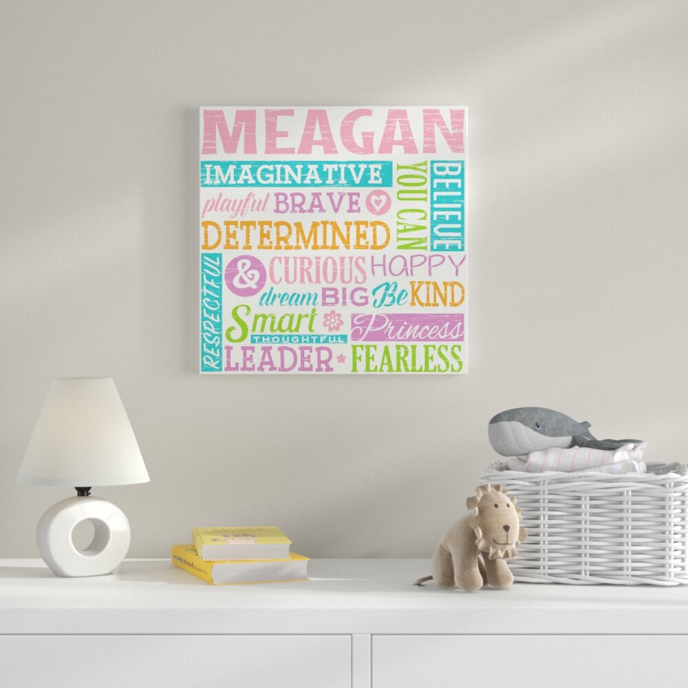 Harriet Bee All About Her Personalized Canvas Art Wayfair
