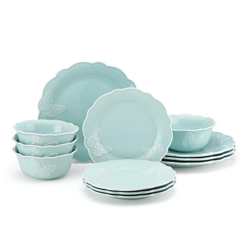 Save  sc 1 st  Wayfair & Cottage u0026 Country Dinnerware Sets Youu0027ll Love | Wayfair