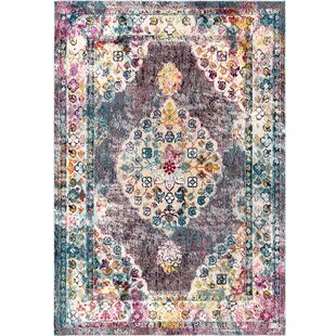 Starlight Pastels Pink/Yellow Indoor/Outdoor Area Rug by Nicole Miller