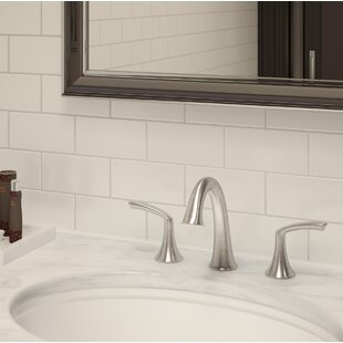 Symmons Elm Widespread Bathroom Faucet with Drain Assembly