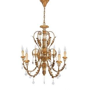 Manor Luxe Vanderbilt 6-Light Candle Style Chandelier