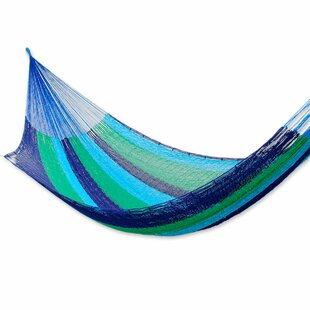 Novica Fair Trade Mayan Cotton Camping Hammock