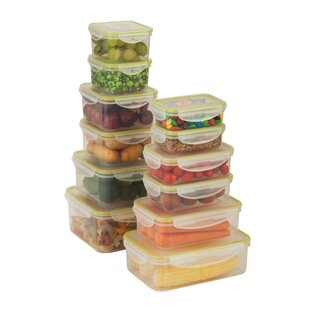 Snap Tab 12 Container Food Storage Set
