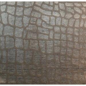 Metro-Velvet, Bamboo Silk, Silver/Gray (3' Square) Rug