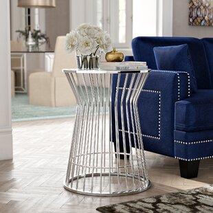 Olander End Table by Willa Arlo Interiors
