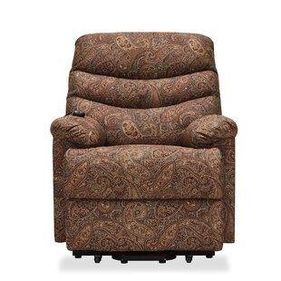 Red Barrel Studio Cerro Paisley Power Reclining Lift Assist Recliner