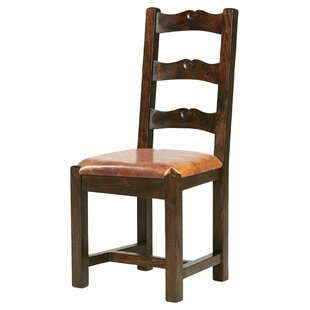 Tuscan Genuine Leather Upholstered Dining Chair by William Sheppee