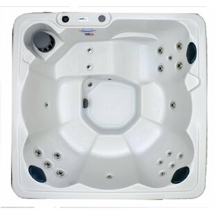 Hudson Bay Spas Hudson Bay 6-Person 19-Jet Plug and Play Spa with Stainless Jets and Underwater LED Light