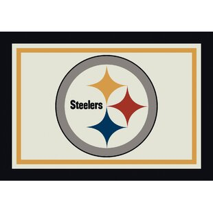 NFL Spirit Pittsburgh Steelers Football Rug
