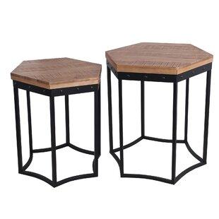 Hoff 2 Piece Nesting Tables