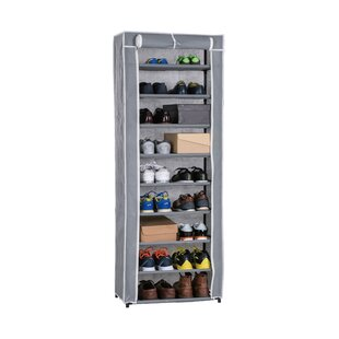 Comparison Roll-Up 30 Pair Shoe Rack By Above Edge Inc.