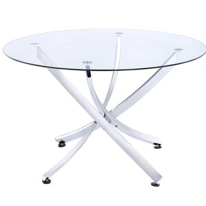 Rhames Round Dining Table by Varick Gallery