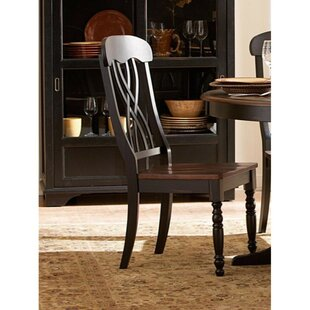 Darby Home Co Beaudoin Solid Wood Dining Chair (Set of 2)
