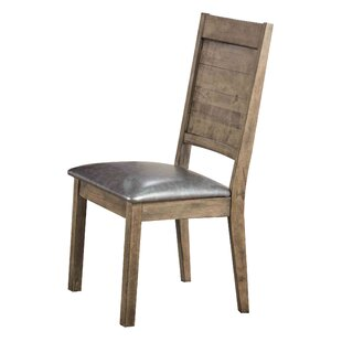 Loon Peak Spicer PU Side Chair (Set of 2)