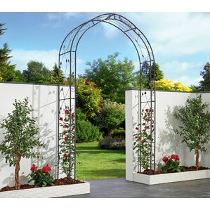 Rosetta Garden Arch Arbor With Gate
