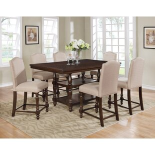 Langley Counter Height Dining Table Crown Mark