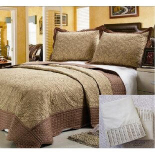 Cuffee 7 Piece Reversible Quilt Set