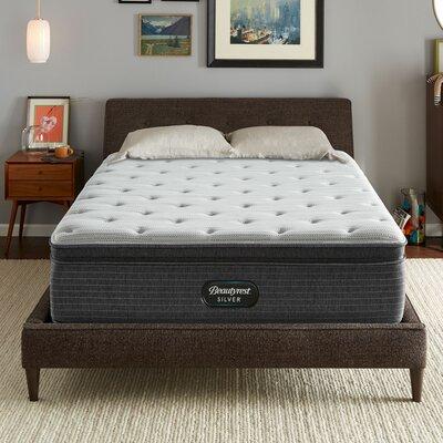 """Beautyrest Silver BRS900 14.75"""" Medium Pillow Top Mattress Simmons Beautyrest Mattress Size: Queen"""