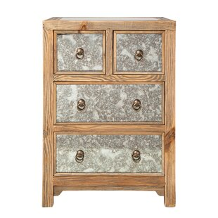 Morgantown 4 Drawer Nightstand