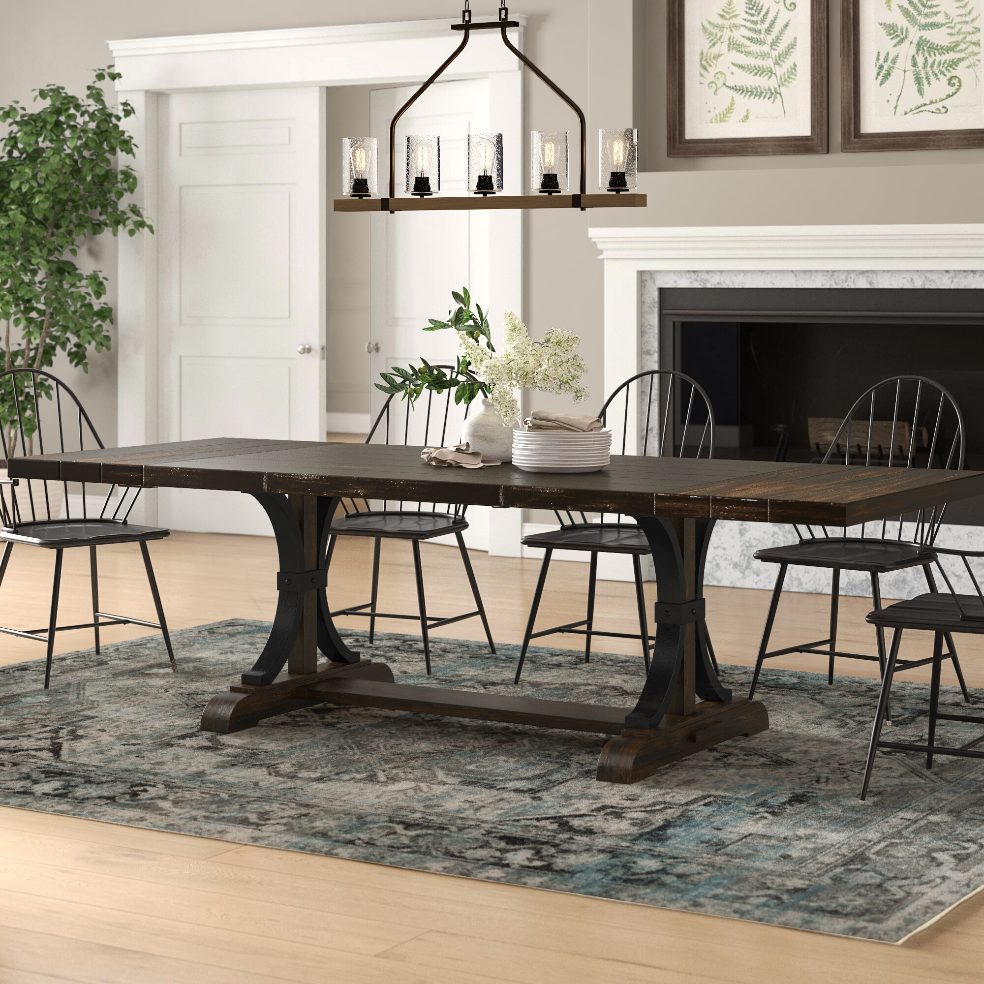Martinsburg Extendable Dining Table Reviews Birch Lane