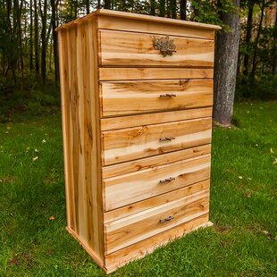 "Nativ Livingâ""¢ Mountain Maple 5 Drawer Chest"