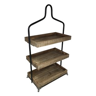 3 Tier Top Storage Shelving Unit