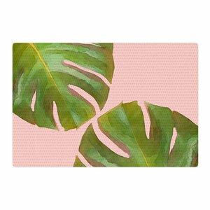 Oriana Cordero Tropico V3 Pink/Green Area Rug
