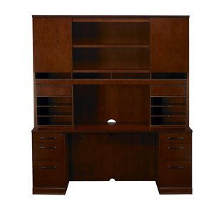 Mayline Group Sorrento Executive Desk with Hutch