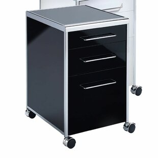 Hartwick 3 Drawer Filing Cabinet By Metro Lane