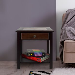 Ambudkar End Table With Storage by Alcott Hill
