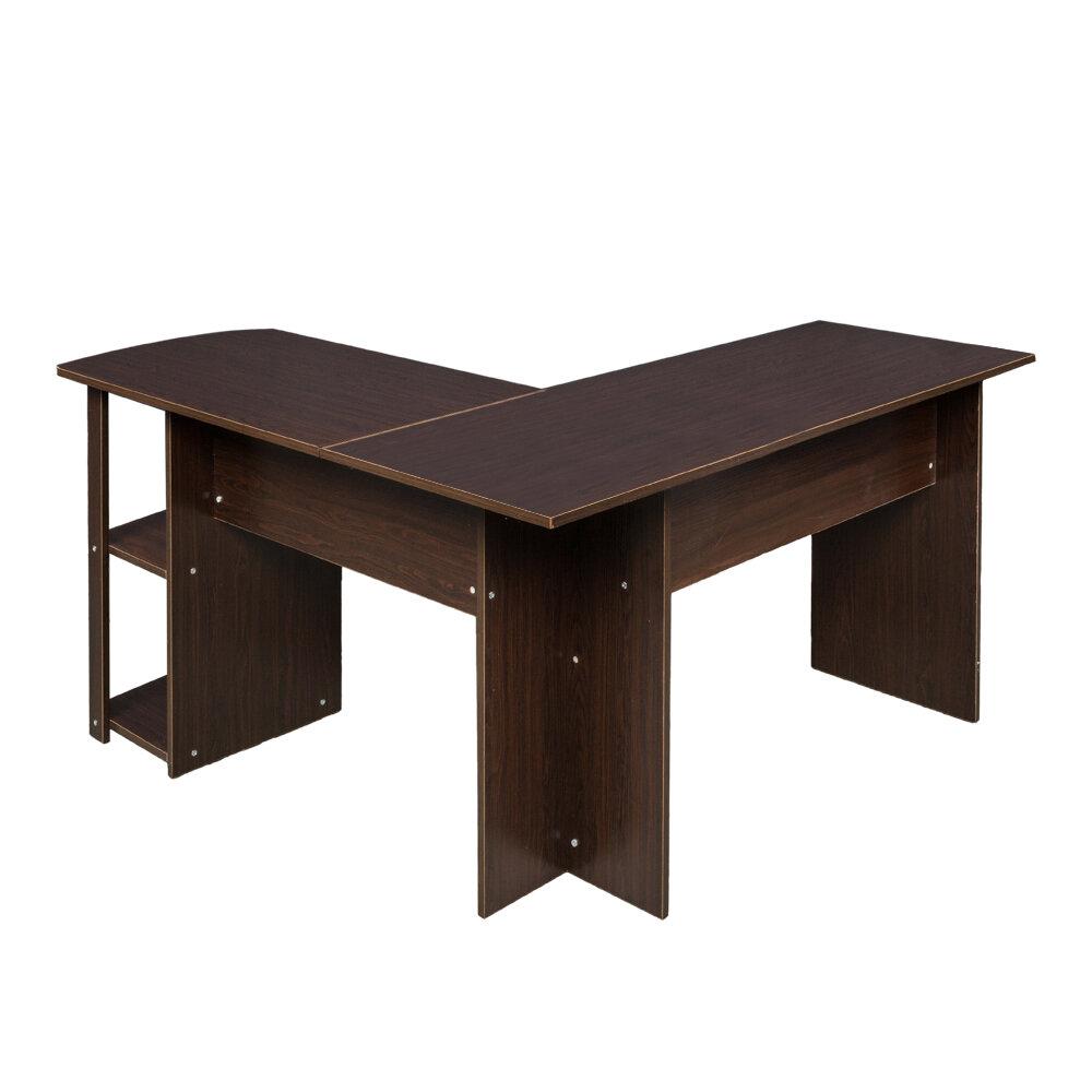 Ebern Designs Marklesburg L Shape Desk Reviews Wayfair