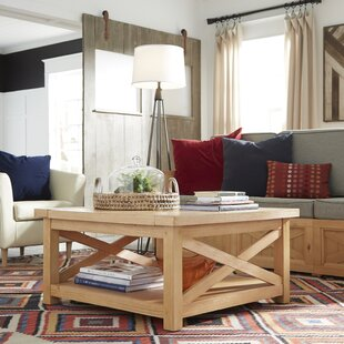 Affordable Burbury Country Lodge Coffee Table By Loon Peak