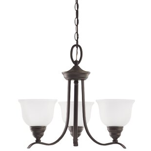 Busti 3-Light Shaded Chandelier by Darby Home Co
