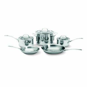 Calphalon 8-Piece Stainless Steel Cookware Set