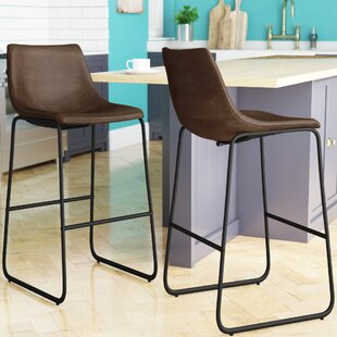 Union Rustic Myrick 28.5 Bar Stool (Set of 2)