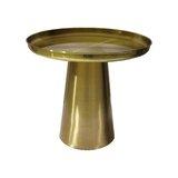 Zumwalt Pedestal End Table by Everly Quinn