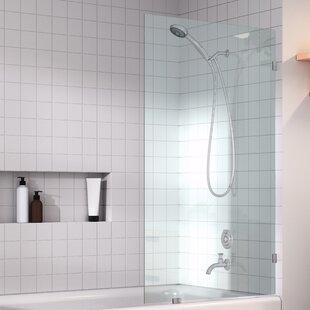 Frameless Bathtub Glass Panels | Wayfair